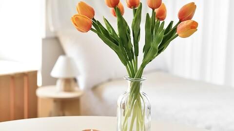 Tulip artificial flower