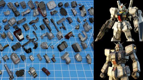 100 ROBOT-MECH KITBASH VOL.01
