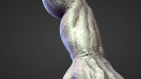 ARM1 high poly sculpt