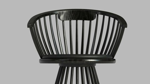 Dining Chair 01 - Real-time Asset