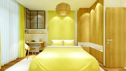 Deluxe master bedroom design  11