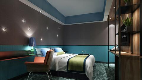 Deluxe master bedroom design  12