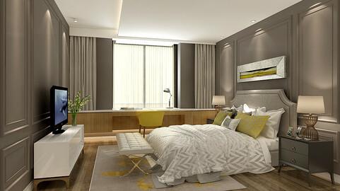 Deluxe master bedroom design  14