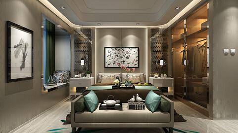 Deluxe master bedroom design  15