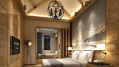 Deluxe master bedroom design  19