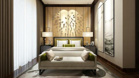 Deluxe master bedroom design  20