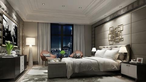 Deluxe master bedroom design  23
