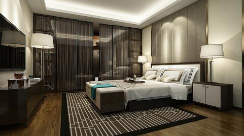 Deluxe master bedroom design  27