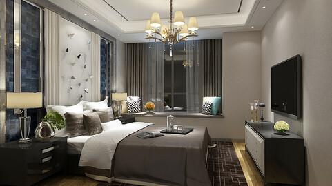 Deluxe master bedroom design  52