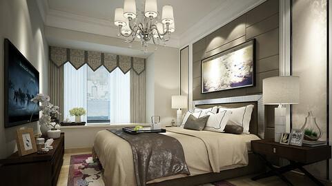 Deluxe master bedroom design  59