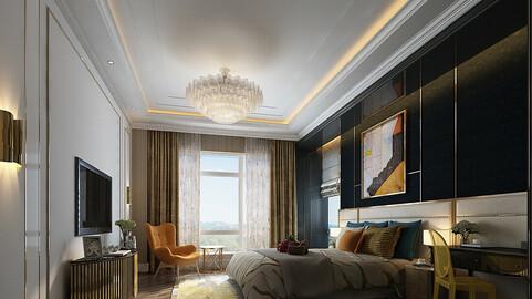 Deluxe master bedroom design  60