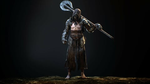 Heretic 3d Character