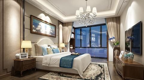 Deluxe master bedroom design  72