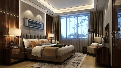 Deluxe master bedroom design  74