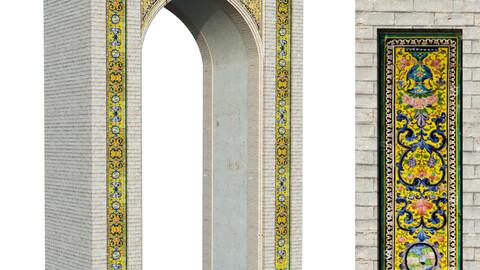 old islamic arabic  turkish arch set 144