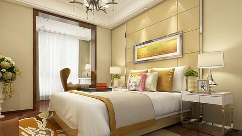 Deluxe master bedroom design  76