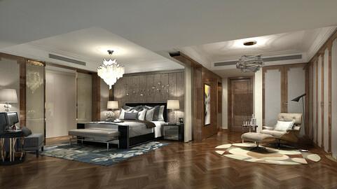 Deluxe master bedroom design  79