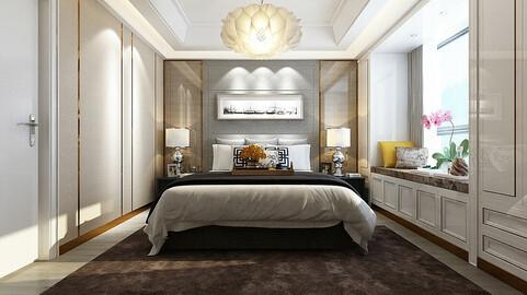 Deluxe master bedroom design  83