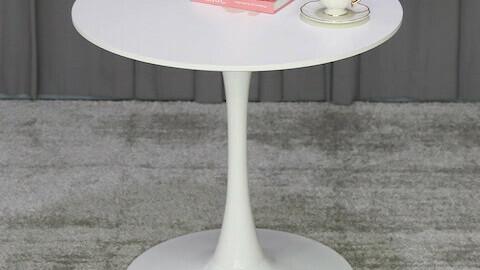 FW white round table 800size