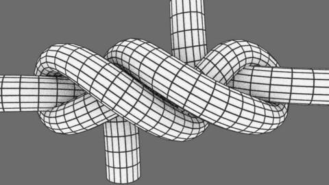 symmetrical hawser bend #1 knot