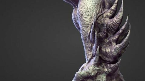 ARM2 high poly sculpt