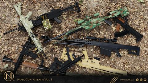NOYA 50 Gun Kitbash Vol 3