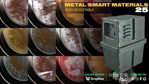25 METAL SMART MATERIALS [EASY ADJUSTABLE ]