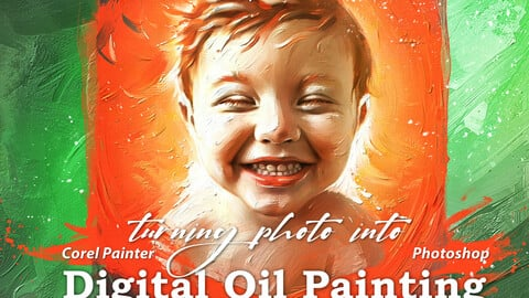 Digital Oil Painting video course.