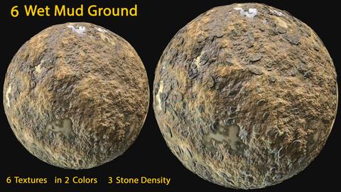 6 Wet Mud Ground Texture