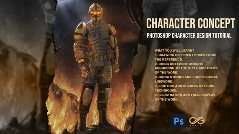 Character Concept And Design Tutorial