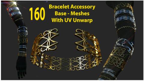 Bracelet Accessory Base Meshes