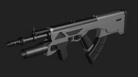Automatic weapon concept