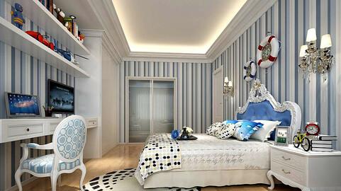 Deluxe master bedroom design  168
