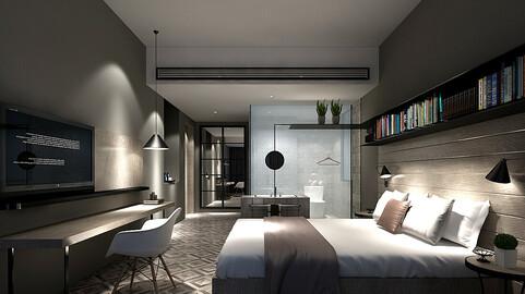 Deluxe master bedroom design  170