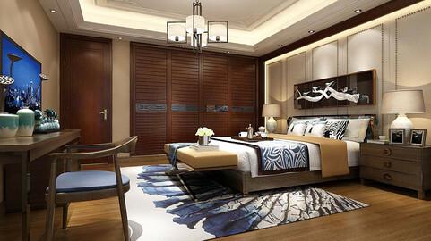 Deluxe master bedroom design  172