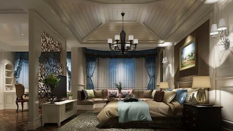Deluxe master bedroom design  180