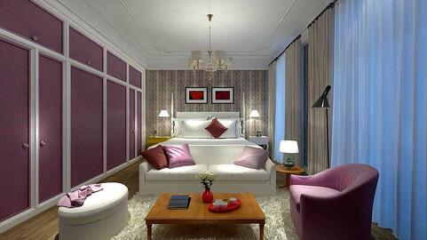 Deluxe master bedroom design  186