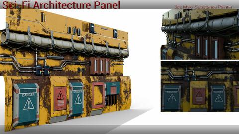 Sci-Fi Architecture Panel