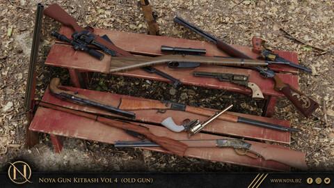 NOYA 50 Old Guns Models (Vol 4)