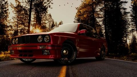 BMW E30 M3 3D model
