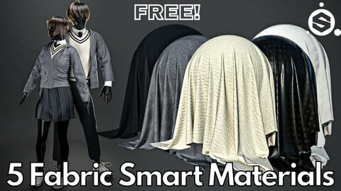 5 Fabric smart material : School uniform