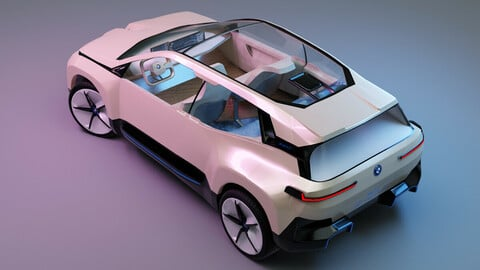 BMW inext 3D Modeling with interior