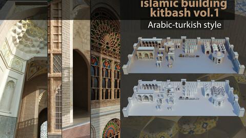 islamic arabic turkish building kitbash vol.1