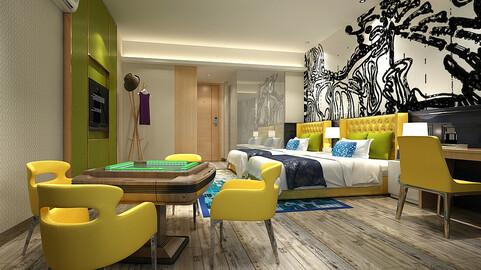 bedroom hotel suites designed a complete 21