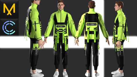 New concept Marvelous Clo3D Male Outfit style #12