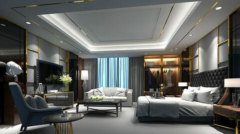 Stylish bedroom complete 29
