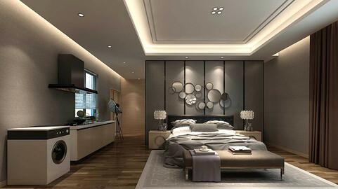 Stylish bedroom complete 30