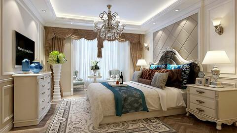 Stylish bedroom complete 39