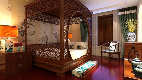 Stylish bedroom complete 83
