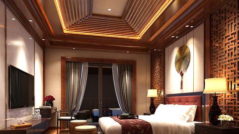 Stylish bedroom complete 85